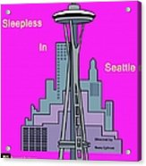 My Sleepless In Seattle Movie Poster Acrylic Print