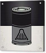 My Star Warhols Darth Vader Minimal Can Poster Acrylic Print