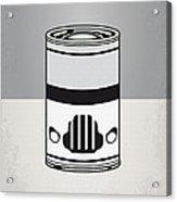 My Star Warhols Stormtrooper Minimal Can Poster Acrylic Print