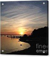 My Sunset Getaway Acrylic Print by Stephanie  Varner