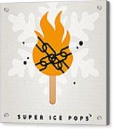 My Superhero Ice Pop - Ghost Rider Acrylic Print