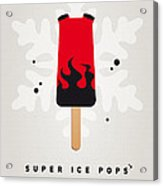 My Superhero Ice Pop - Hellboy Acrylic Print