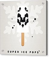 My Superhero Ice Pop - Rorschach Acrylic Print by Chungkong Art