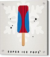 My Superhero Ice Pop - Spiderman Acrylic Print