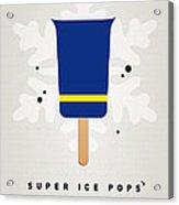 My Superhero Ice Pop - The Beast Acrylic Print by Chungkong Art