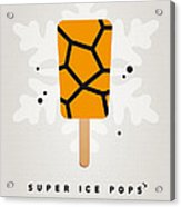 My Superhero Ice Pop - The Thing Acrylic Print