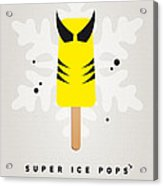 My Superhero Ice Pop - Wolverine Acrylic Print