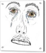 My Tears Acrylic Print