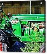 My Tractor Acrylic Print