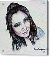 My True Colors Acrylic Print