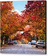 My Way Home.... Acrylic Print