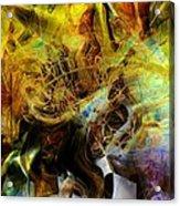 Mycelium Scene Acrylic Print