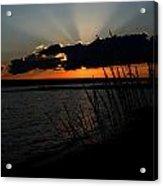 Myers Sunset Acrylic Print