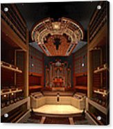Myerson Symphony Center Auditorium - Dallas Acrylic Print