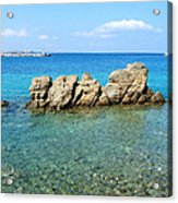 Mykonos Blue Aegean Acrylic Print
