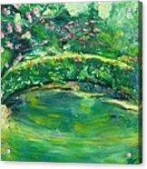 Mynelle Gardens Acrylic Print