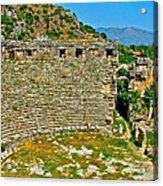 Myra's Roman Theatre In Fourth Century-turkey Acrylic Print