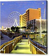 Myrtle Beach Acrylic Print