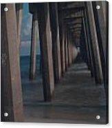Myst Under The Pier Acrylic Print