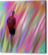 Mysterious Color Acrylic Print