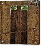 Mysterious Door Acrylic Print