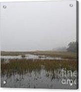 Mysterious Fog Acrylic Print