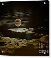 Mysterious Moon Acrylic Print by Boon Mee