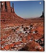 Mysterious Red Rocks Acrylic Print