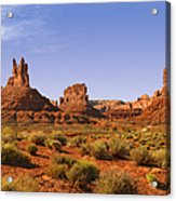 Mysterious Valley Of The Gods Acrylic Print by Christine Till
