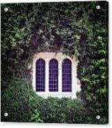 Mysterious Window Acrylic Print