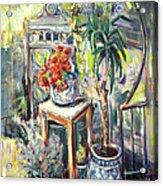 Mystery Garden Acrylic Print