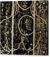 Mystery Lady Acrylic Print