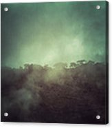 Mystery Mountain Acrylic Print
