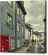 Mystery Street Acrylic Print