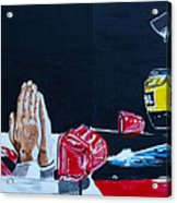 Mystic Ayrton Senna Acrylic Print