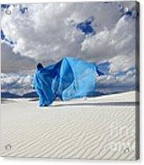 Mystic Blue 11 Acrylic Print