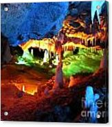Mystic Caverns Acrylic Print