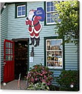 Mystic Christmas Shop - Connecticut Acrylic Print