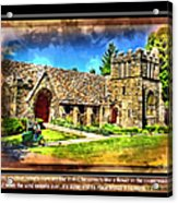 Mystic Church - Featured In Comfortable Art Group Acrylic Print