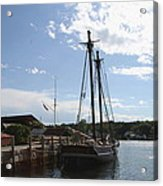 Mystic Harbor - Ct Acrylic Print