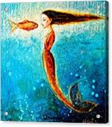 Mystic Mermaid II Acrylic Print