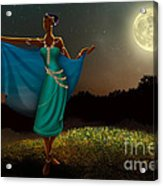 Mystic Moonlight V1 Acrylic Print