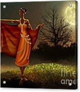 Mystic Moonlight V2 Acrylic Print by Bedros Awak