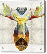 Mystic Moose Art By Sharon Cummings Acrylic Print