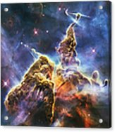 Mystic Mountain Acrylic Print by Adam Romanowicz