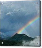 Mystic Rainbow Acrylic Print