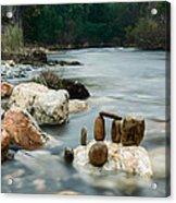 Mystic River I Acrylic Print