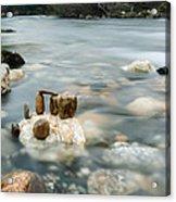 Mystic River II Acrylic Print