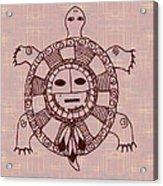 Mystic Turtle Acrylic Print