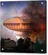 Mystic Ufo Acrylic Print